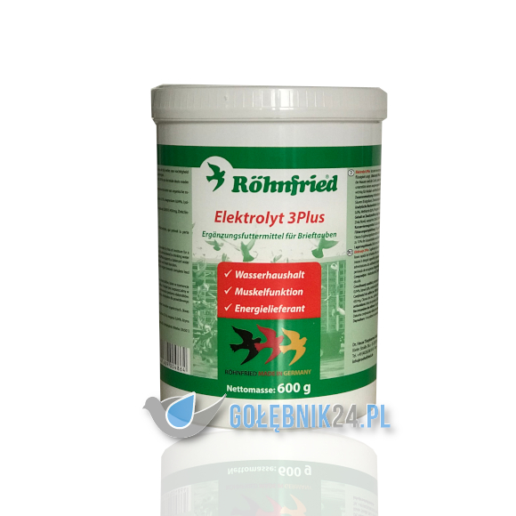 Röhnfried – Elektrolyt 3Plus – 600g