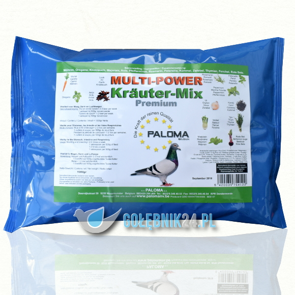 Paloma - Multi Power Krauter Mix - 500 g