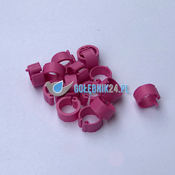 znacznik dla gołebi r 8 różowy mat