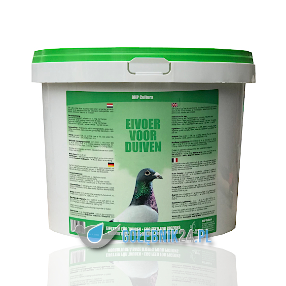 DHP Cultura – Eivoer voor duiven – 8 L
