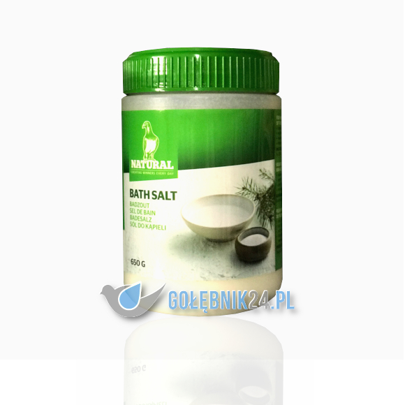 NATURAL - BADESALZ - 650G