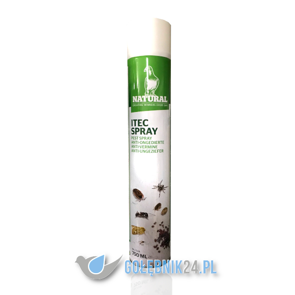 NATURAL - ITEC SPRAWY - 750ML