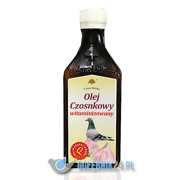 Leśna Dolina - Olej czosnkowy witaminizowany - 250 ml