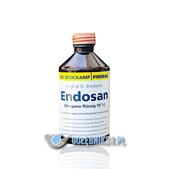 Brockamp - Endosan (oregano w płynie) - 250 ml