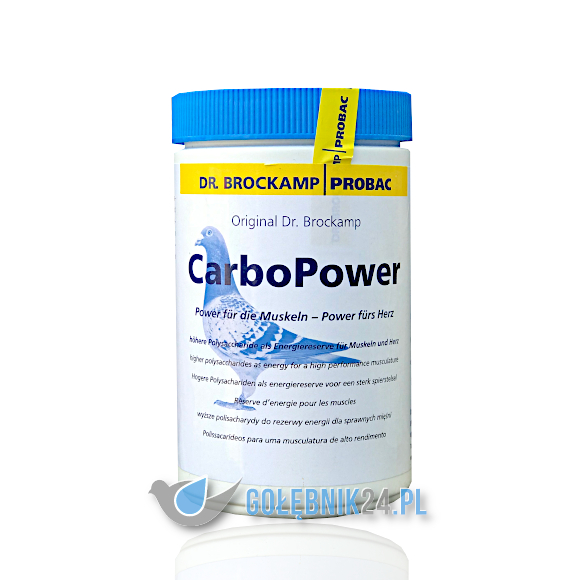Dr. Brockamp - Carbo Power 500 g
