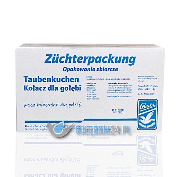 Backs – Taubenkuchen (kostki) – 12-pak – 11 kg
