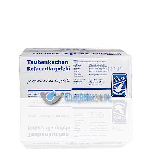 Backs – Taubenkuchen (kostki) – 6-pak – 6 kg