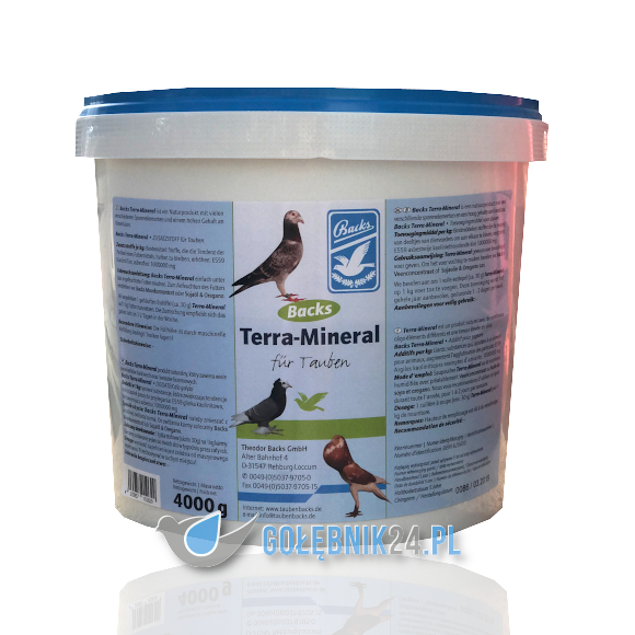 Backs – Terra-Mineral – 4 kg