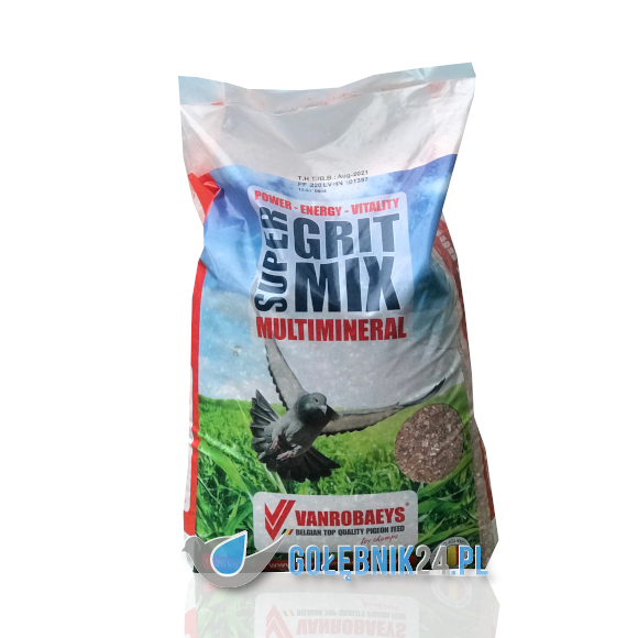 Vanrobaeys – Super Grit Mix – Multimineral – 20 kg