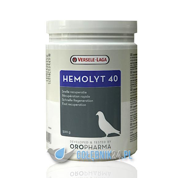 Versele-Laga – Hemolyt 40 (regeneracja z proteinami i elektrolitami) – 500 g