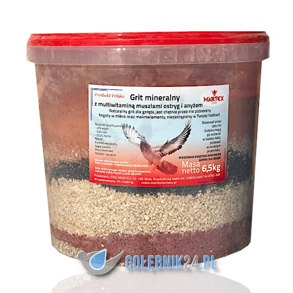 Martex - Grit Przekładaniec z muszlą - 6,5 kg